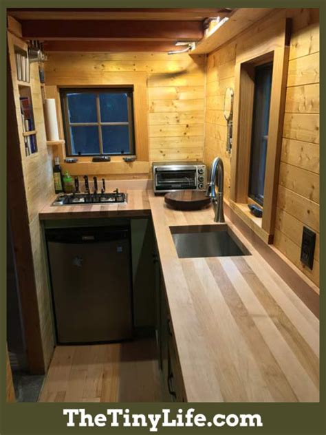 kitchen design for small houses ryan s tiny house kitchen the tiny