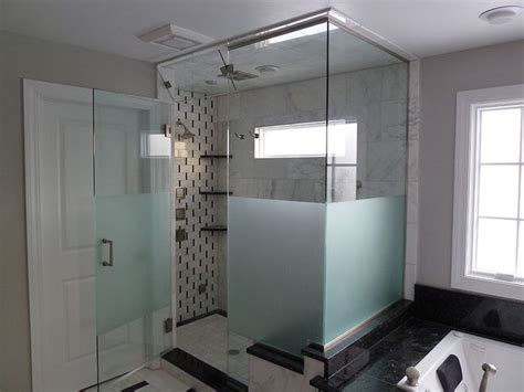 etched shower doors 11 best frosted shower glass images on
