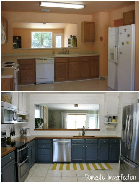 cheap kitchen makeover ideas before and after 37 brilliant diy kitchen makeover ideas page 3 of 8