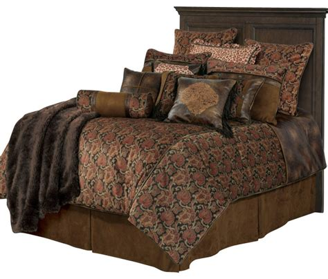 rustic comforters sets western comforter sets with faux leather comforter set
