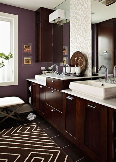 chocolate brown bathroom accessories 30 bathroom color schemes you never knew you wanted