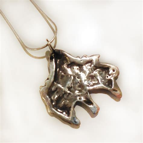 torch jewelry torch necklace silverbotanica handmade jewelry