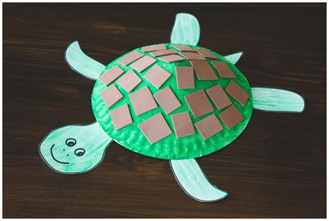 paper plate crafts for paper plate turtle craft for free printable