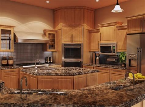 kitchen counters and cabinets best 25 light oak cabinets with granite ideas on