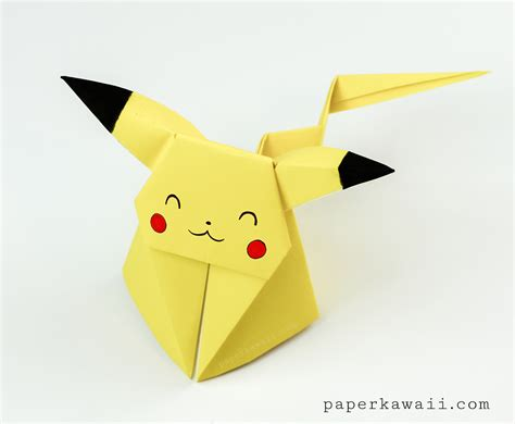 origami pokemons easy origami step by step images images