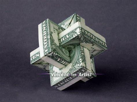 origami 5 dollar bill 1000 ideas about dollar bills on coining one