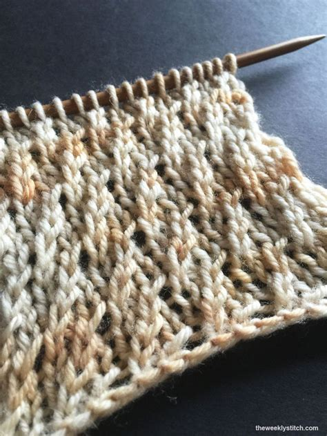 what is the stockinette stitch in knitting twisted stockinette rib the weekly stitch knitting