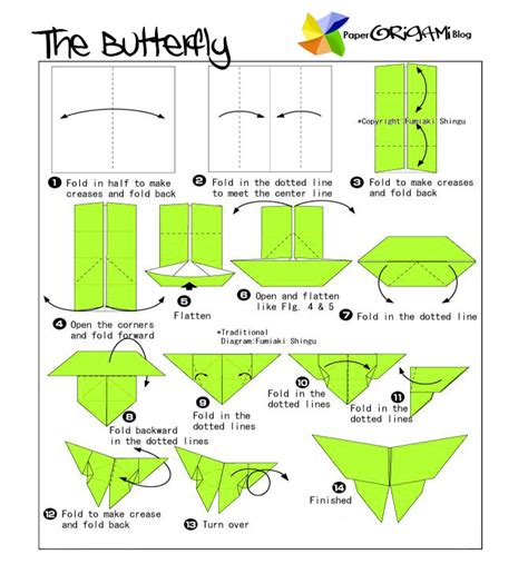 origami butterfly step by step fractal bugfest future of learning math storytelling