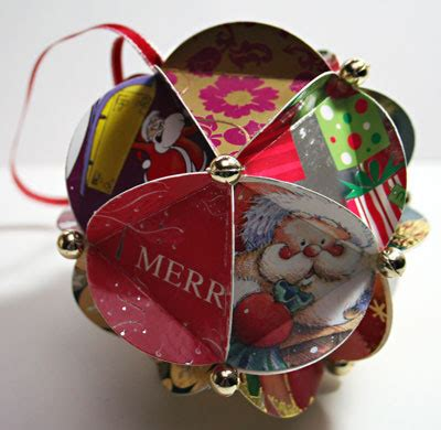 how to make card ornaments recycled card ornaments recycling center