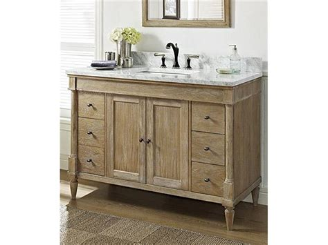 Distressed White Bathroom Cabinets by Distressed White Bathroom Vanity Cabinet Distressed