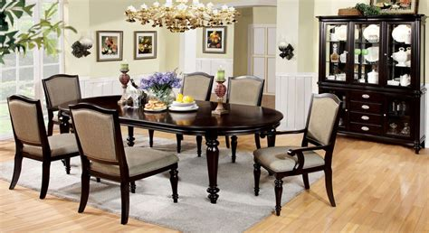 dining room sets with fabric chairs dallas designer furniture harrington formal dining room