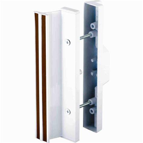 patio door handle home depot prime line patio door handle set with wooden handle c 1204