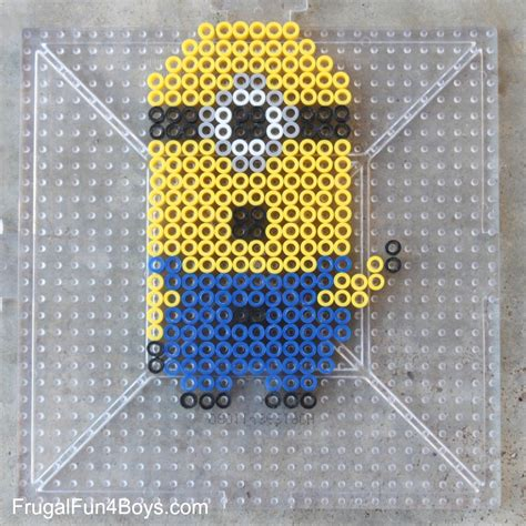 how to make perler designs minions perler bead patterns frugal for boys and