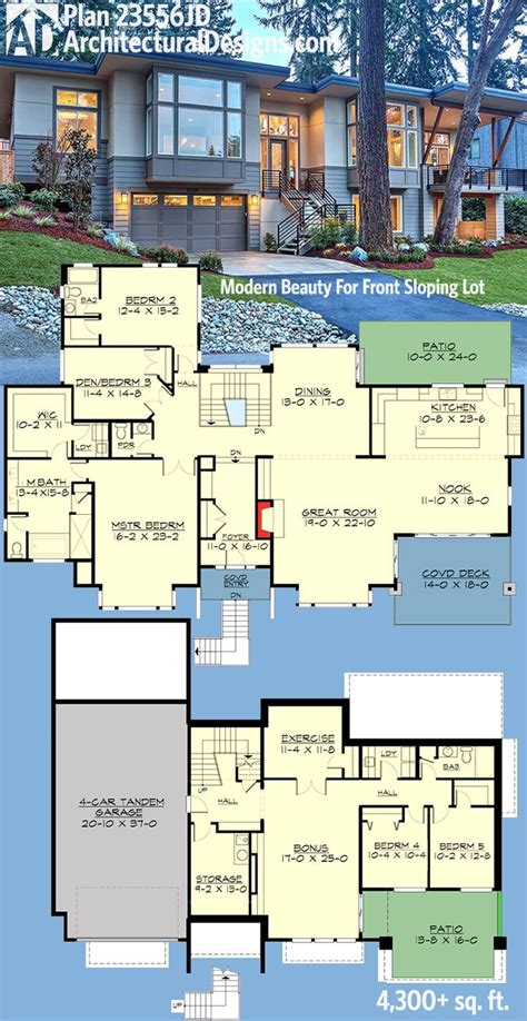 plans of houses the 25 best 6 bedroom house plans ideas on 6