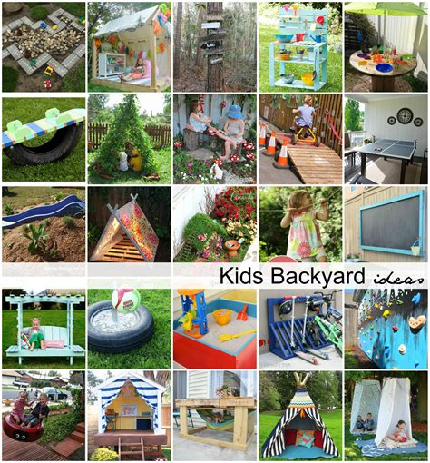 ideas for children diy backyard ideas for the idea room