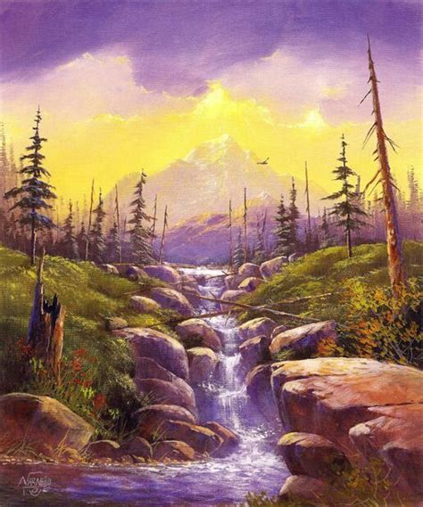 bob ross acrylic painting lesson 4555 best arts paintings images on