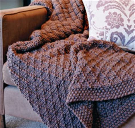 basketweave knit afghan pattern knitted basket weave afghan pattern 1000 free patterns