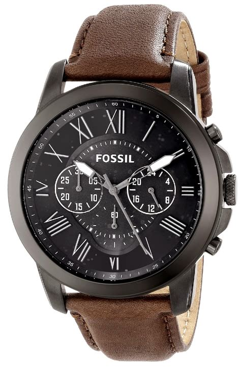 fossil watches with leather bands fossil watches for