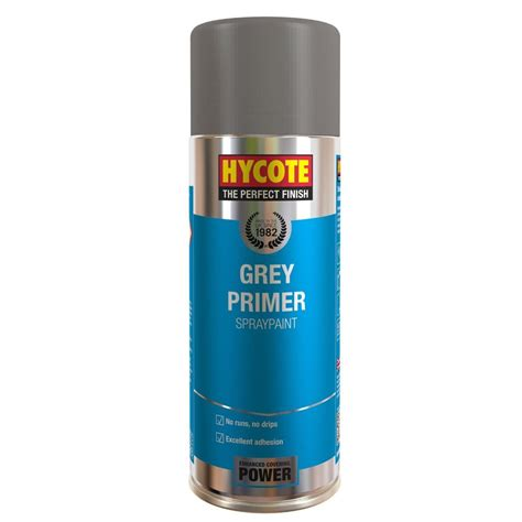 spray paint primer for metal hycote xuk03015 primer aerosol spray paint 400 ml grey
