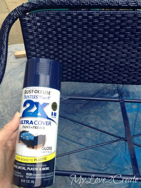 spray painting wicker wicker furniture makeover my 2 create