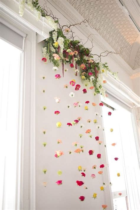 diy hanging decorations 25 best ideas about flower wall decor on diy