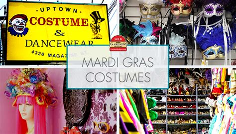 Where To Find Mardi Gras Costumes In New Orleans