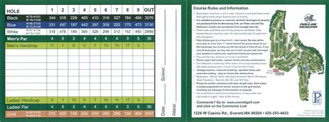 card course everett golf legion memorial and walter golf course