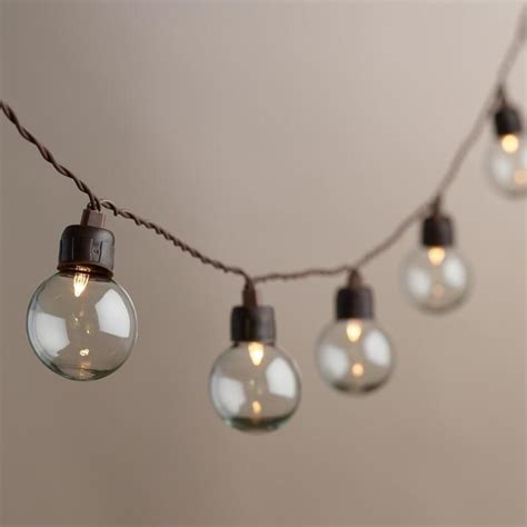 clear outdoor string lights light bulb replacement clear bulb string lights
