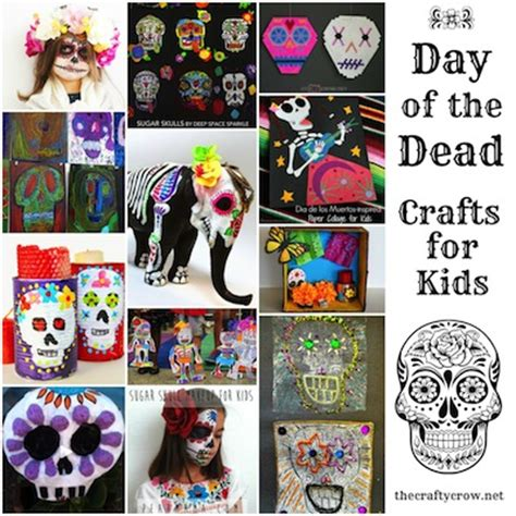 day of the dead crafts for ideas to celebrate dia de los muertos with things