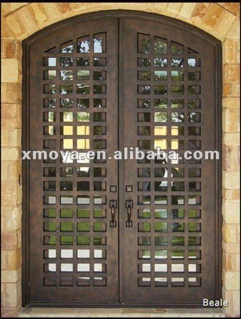 moderne en fer forg 233 portes d entr 233 e avec isol 233 verre fen 234 tre inserts portes id du