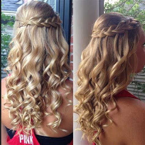 braided hair with braid curls