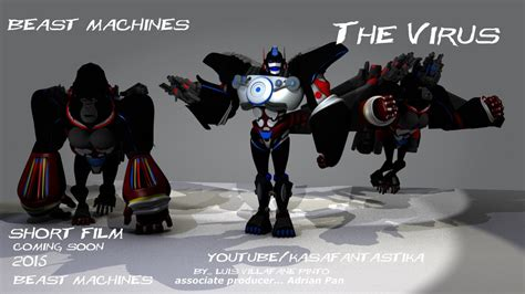 my beast my beast machines optimus primal by doctorcocolia on