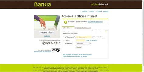 bankia oficina de internet dep 243 sito 12 m 225 s internet de bankia comparativa de dep 243 sitos