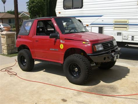 Lifted Suzuki Sidekick suzuki sidekick 4x4 lifted www pixshark images