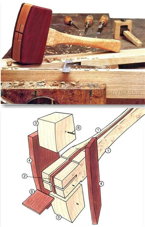 woodworking mallet plan 25 best ideas about tools on carpentry