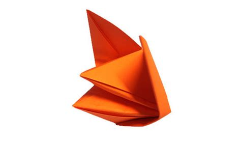 origami talking fox the movable origami archives origami