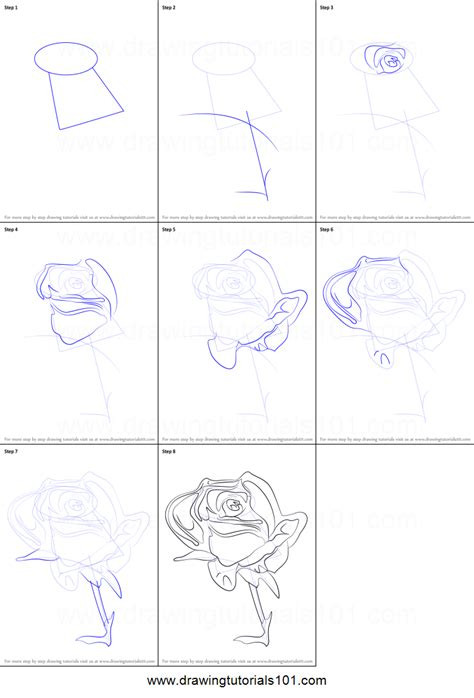 flowers step by step how to draw a flower printable step by step drawing