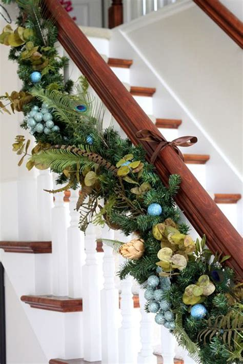 stairway garland top 40 staircase garland designs for