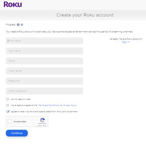 make roku account without credit card how to open a roku account and register your roku without