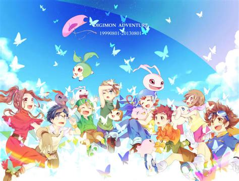digimon adventure digimon adventure anniversary celebrated by fans with fan