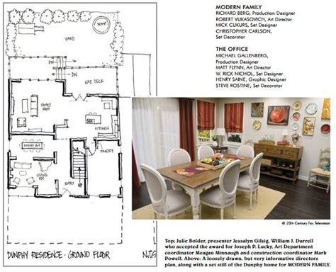 floor plan of modern family house modern family dunphy floorplan house plans