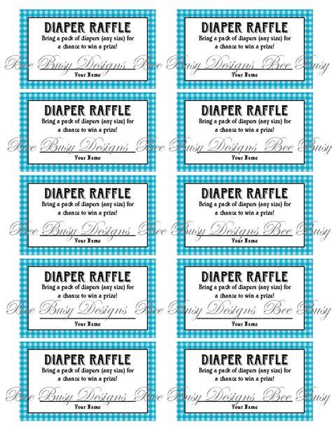 diaper raffle tickets printable new calendar template site