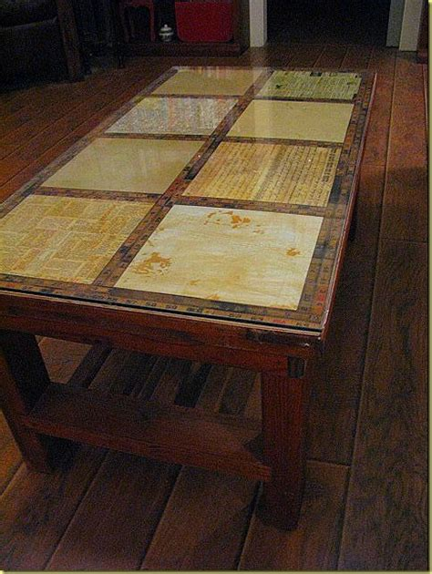 decoupage tabletop decoupage a table diy crafts