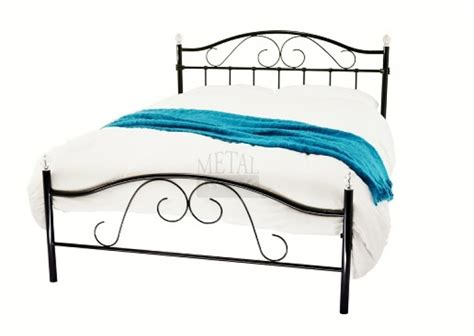 metal beds sussex 4ft 120cm small black