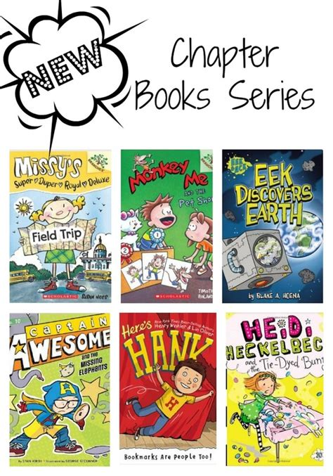 picture chapter books new chapter books series