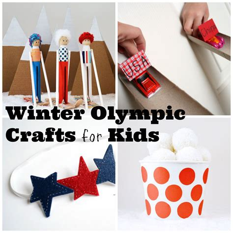 olympic crafts for 2014 craft olympics kid crafts