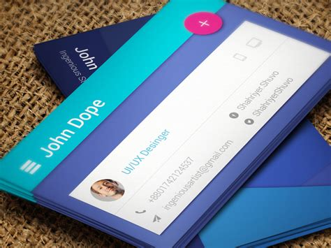 card material paper material business card uplabs