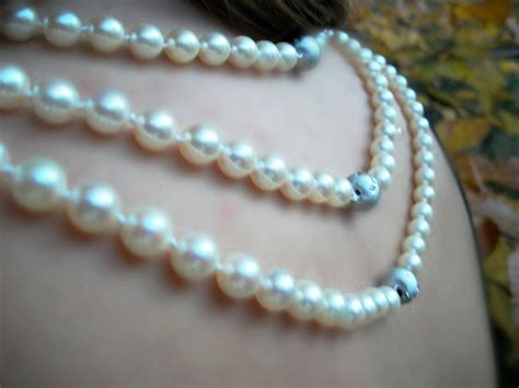 restringing necklace 17 best images about pearls on something new