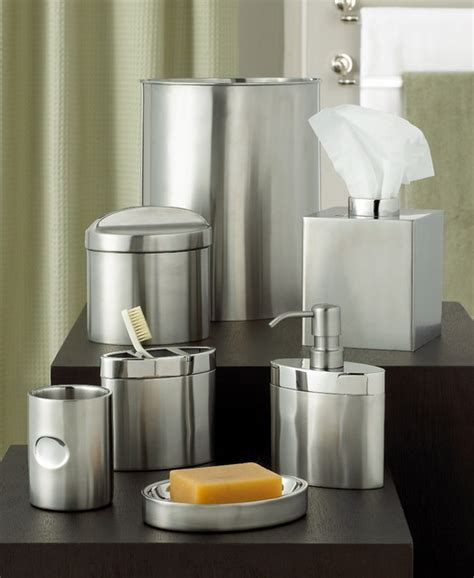 hotel collection bathroom accessories hotel collection quot executive stainless quot bath accessories