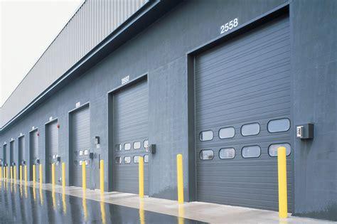 sectional overhead door thermacore sectional steel doors 592